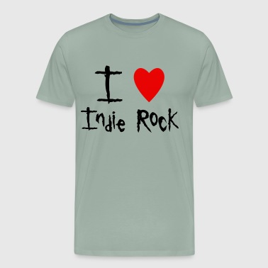 Indie Rock love - Men's Premium T-Shirt