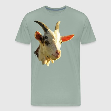 goat vector illustration art - Men's Premium T-Shirt