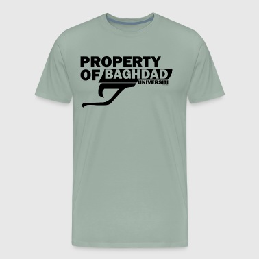 BAGHDAD UNIVERSITY - Men's Premium T-Shirt