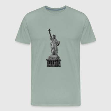 Statue Of Liberty T-Shirt - Men's Premium T-Shirt