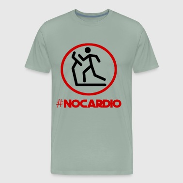 No Cardio T-Shirt - Men's Premium T-Shirt
