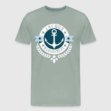 Anchor Management - Anger - Funny Design - Men's Premium T-Shirt