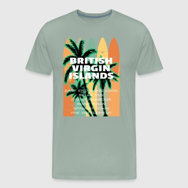 BVI Towns of the British Virgin Islands - Men's Premium T-Shirt