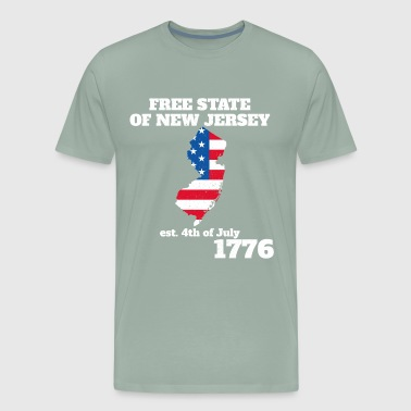 4th of July Independence Day New Jersey - Men's Premium T-Shirt
