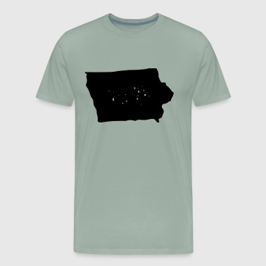 Iowa Cool Gift Family State Shirt Dark - Men's Premium T-Shirt