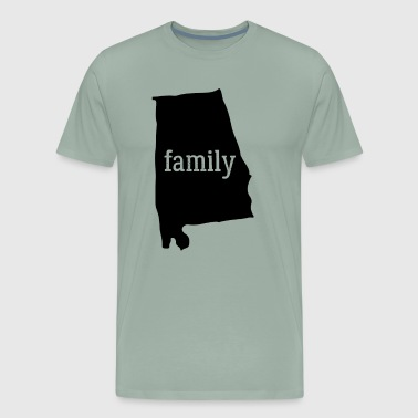 Alabama Cool Gift Family State Shirt Dark - Men's Premium T-Shirt