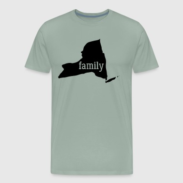 Rochester New York Cool Gift Family State Shirt Dark - Men's Premium T-Shirt