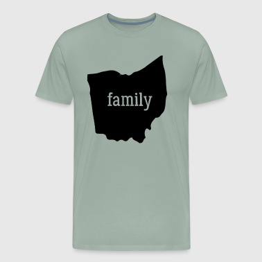 Ohio Cool Gift Family State Shirt Dark - Men's Premium T-Shirt