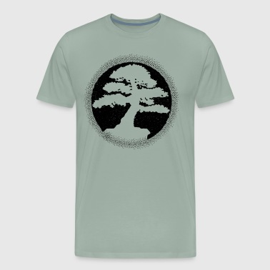 Bonsai Silhouette Dark - Men's Premium T-Shirt