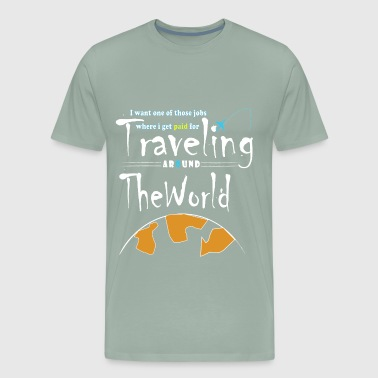travel around the world - Men's Premium T-Shirt