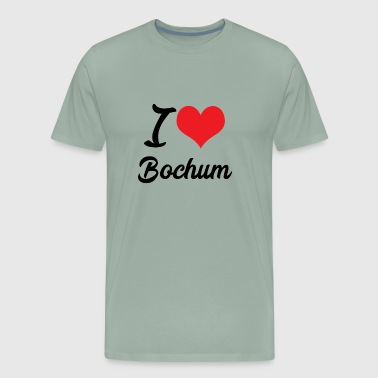I love Bochum - Men's Premium T-Shirt
