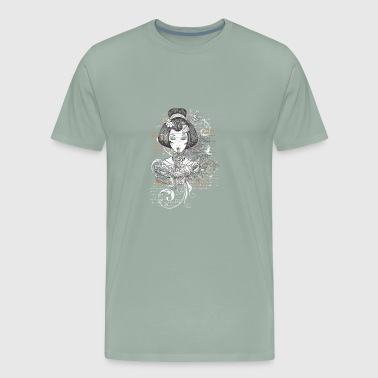 Japanese Geisha - Men's Premium T-Shirt