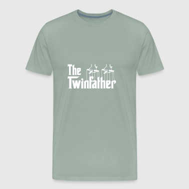 Funny The Twin Father shirts - Twin Dad gifts - - Men's Premium T-Shirt