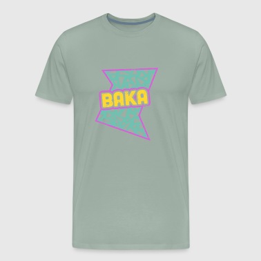 Rad 90s Anime Baka - Men's Premium T-Shirt