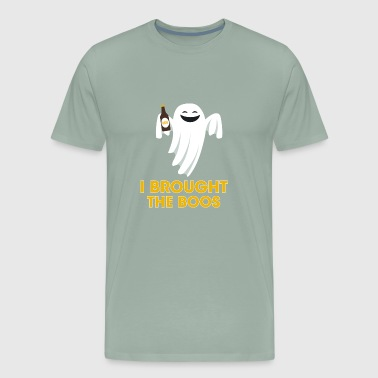 I Brought The Boos Ghost with Beer - Men's Premium T-Shirt