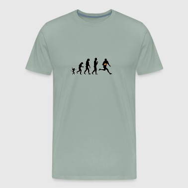 rugby 1 evolution, #rugby 1 - Men's Premium T-Shirt