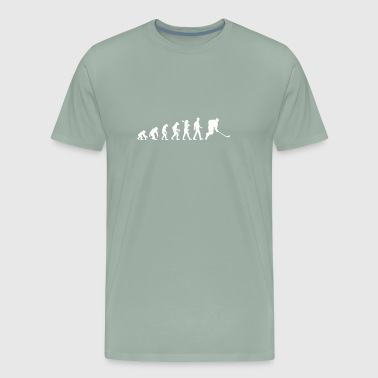 HOCKEY EVOLUTION - Evolution of Hockey - Men's Premium T-Shirt