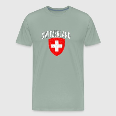 Switzerland Swiss Switzerland World Soccer Cup Jersey Football 2018 - Men's Premium T-Shirt