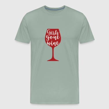 Girls Gone Wine - Men's Premium T-Shirt