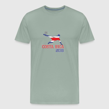 costa rica soccer, #costa rica - Men's Premium T-Shirt