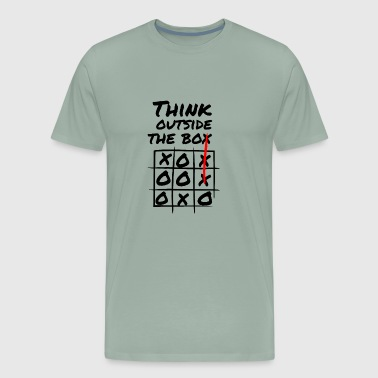 Think Outside The Box Creativity - Men's Premium T-Shirt