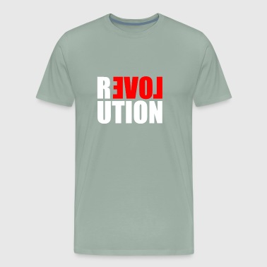 The Love Revolution - Men's Premium T-Shirt