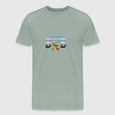 Autism Dad - Men's Premium T-Shirt