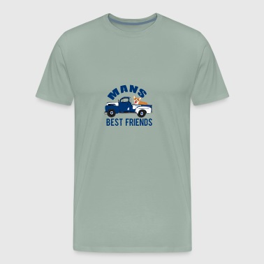 Man's Best Friends - Men's Premium T-Shirt