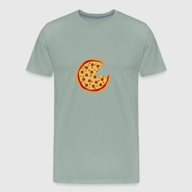 Missing Pizza Couple Design - Men's Premium T-Shirt