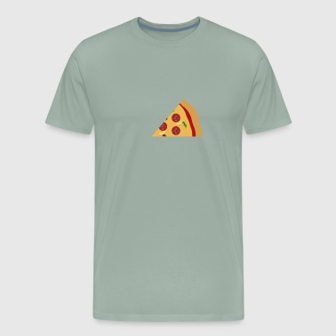 Missing Pizza Piece Couple Design - Men's Premium T-Shirt