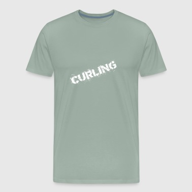 Curling - Men's Premium T-Shirt