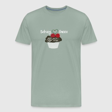 Baking Queen Cupcake Love to Bake - Men's Premium T-Shirt