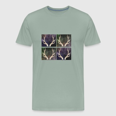 Deer antler - Men's Premium T-Shirt