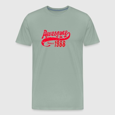Awesome Since 1988 30 Years Old Birthday - Men's Premium T-Shirt