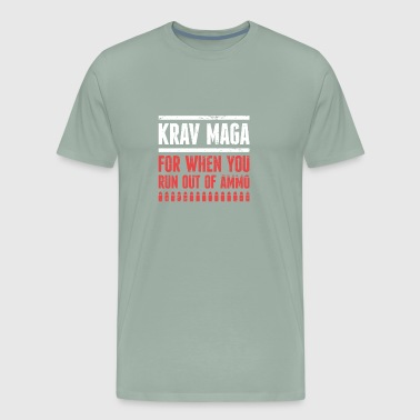 Funny Krav Maga Martial Arts Graphic - Men's Premium T-Shirt