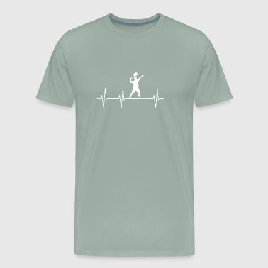 My Heart Beats For Tennis - Men's Premium T-Shirt