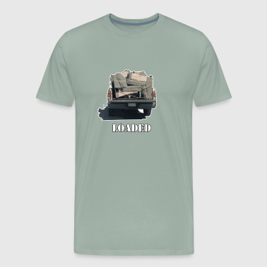 Loaded Truck Loaded with Sofa - Men's Premium T-Shirt