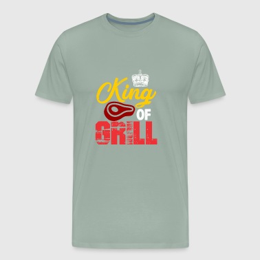 KING OF GRILL - Men's Premium T-Shirt