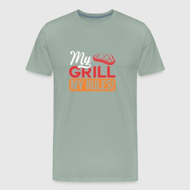 MY GRILL MY RULES - Men's Premium T-Shirt