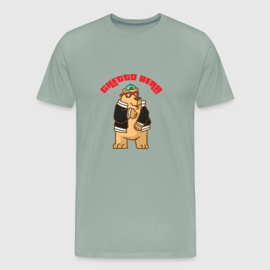 Ghetto Bear - Men's Premium T-Shirt