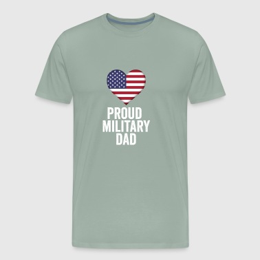Proud Military Dad - Men's Premium T-Shirt