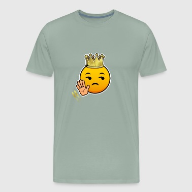No New Friends Lol King Crown Queen Smiley Funny Gift Cool Awesome - Men's Premium T-Shirt