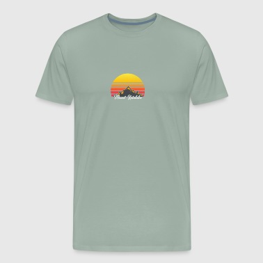Mount Katahdin Maine Sunset Hiking - Men's Premium T-Shirt