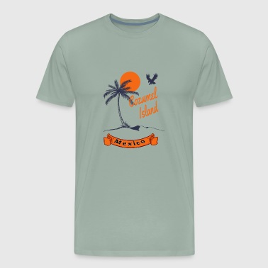 Cozumel Mexico Cozumel Island, Mexico, vacation, fun, gift, trip - Men's Premium T-Shirt