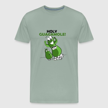Holy Guacamole Giant Avocado T-shirt - Men's Premium T-Shirt