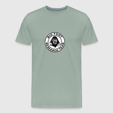 Official Bigfoot Yeti Research Team Sasquatch - Men's Premium T-Shirt