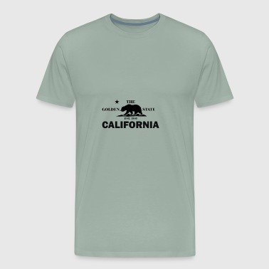 California Th Golden State - Men's Premium T-Shirt