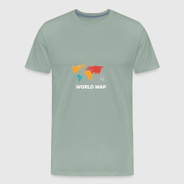 World Citizen - Men's Premium T-Shirt