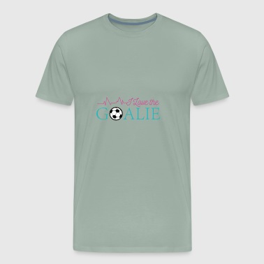 Soccer Goalie Love - Men's Premium T-Shirt
