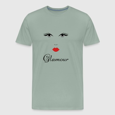 Glamour Girl Design - Men's Premium T-Shirt